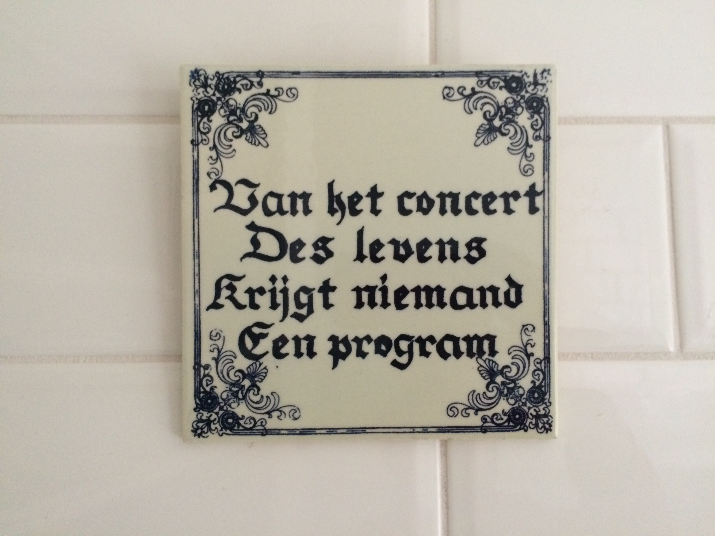 Van Het Concert Des Levens The Passion Bar Blij
