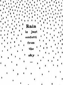 Confetti Rain| Bar & Blij